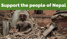 Support the people of Nepal
