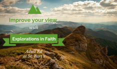 Improve your view--Adult education at St. Bart's