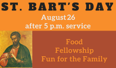 St. Bart's Day - August 27