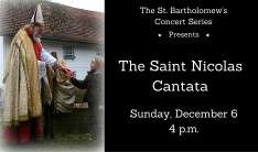 The Saint Nicolas Cantata