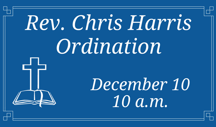 Rev. Chris Harris Ordination