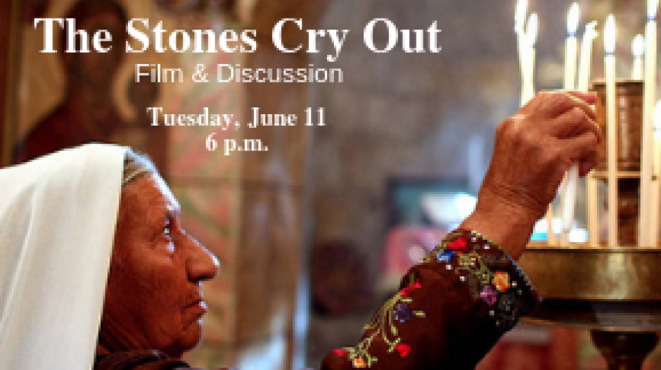 Film & Discussion: The Stones Cry Out