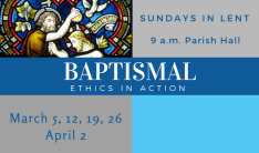 Baptismal Ethics in Action