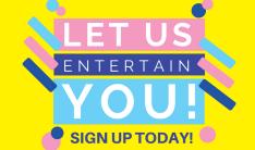 Let Us Entertain You