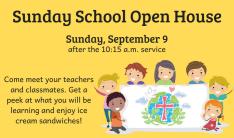 Sunday School Open House