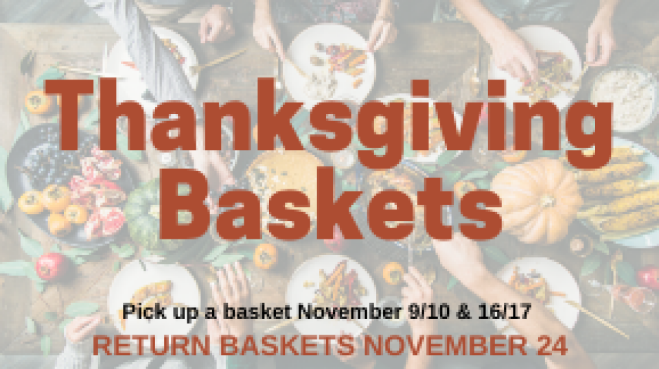 Thanksgiving Basket Pick-up
