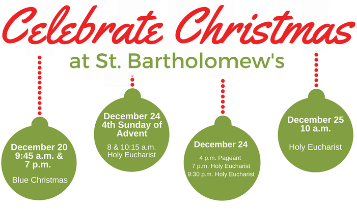 Advent & Christmas services