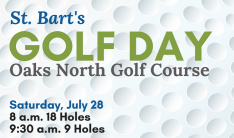 St. Bart's Golf Day