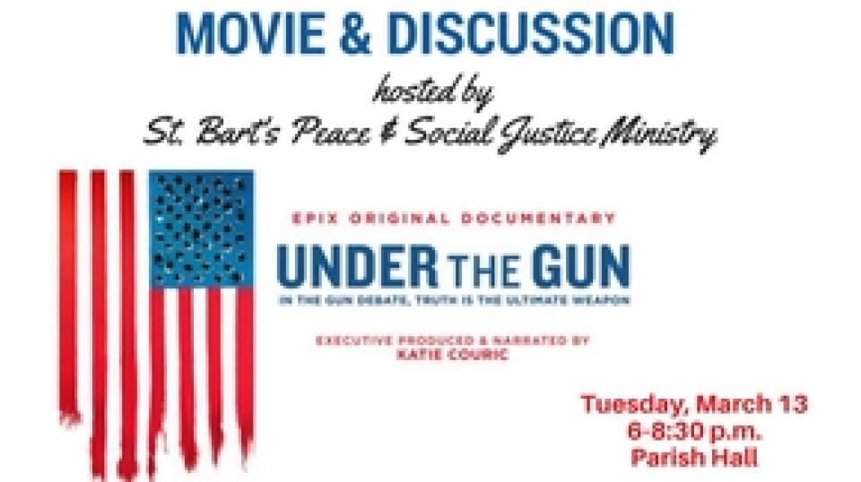 Movie & Discussion: Under the Gun