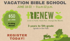 Vacation Bible School 2018