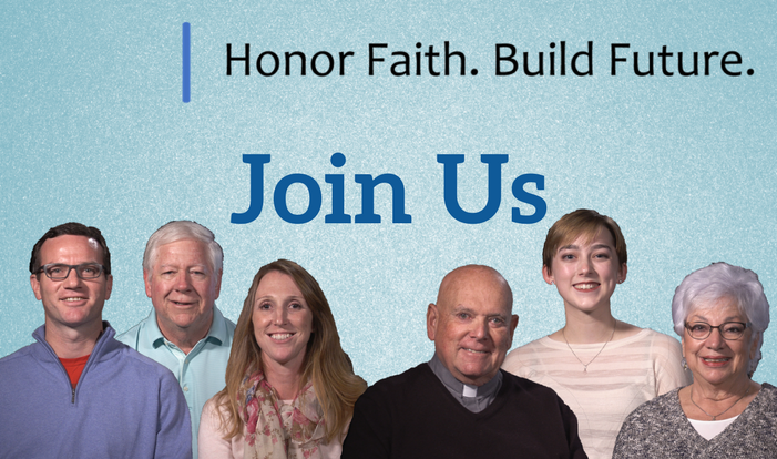 Honor Faith. Build Future. - Join Us