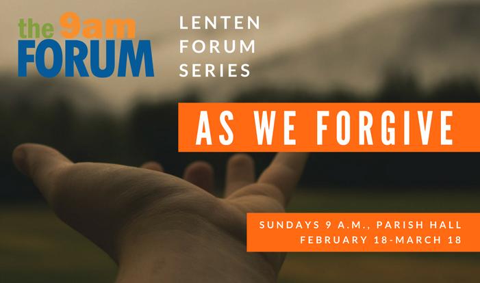 Lenten Forum Series