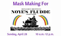 Mask Making for Noye's Fludde