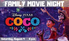 Family Movie Night & Potluck