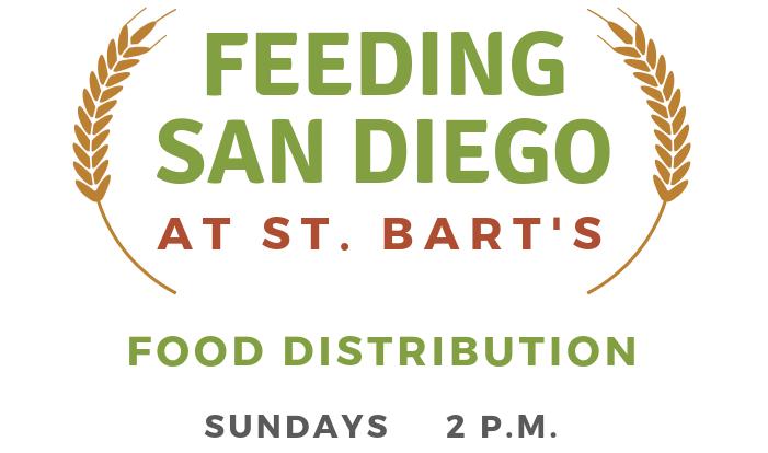 Feeding San Diego at St. Bart's