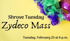 Shrove Tuesday: Zydeco Mass