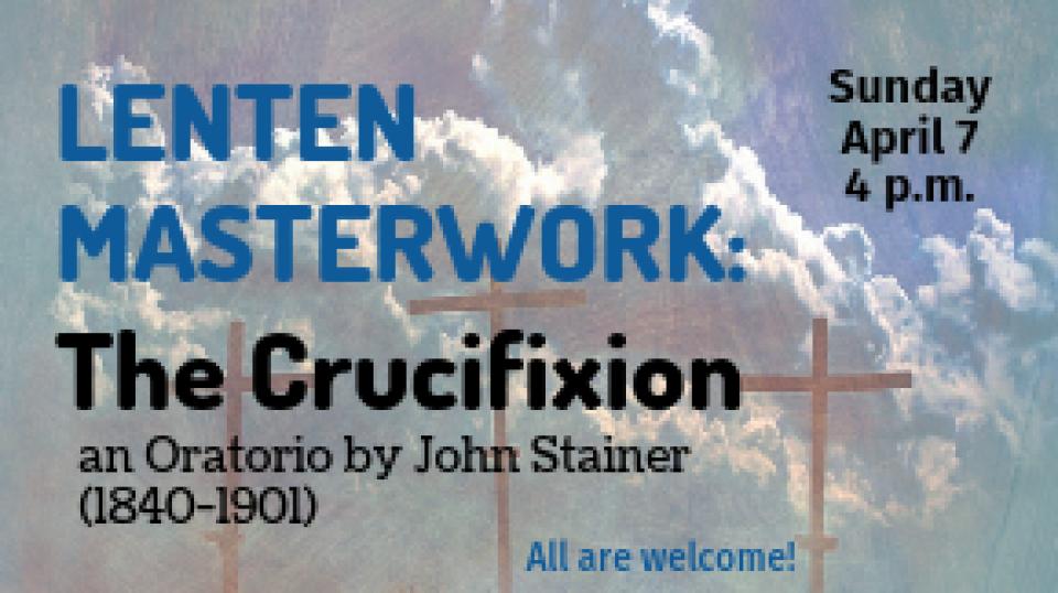 Lenten Masterwork: The Crucifixion