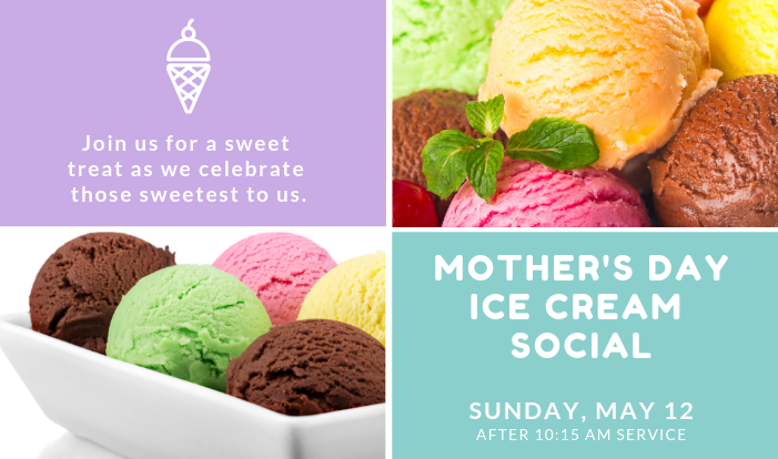 Mother's Day Ice Cream Social