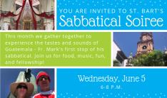 Sabbatical Soiree: Guatemala