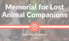 Memorial for Lost Animal Companions
