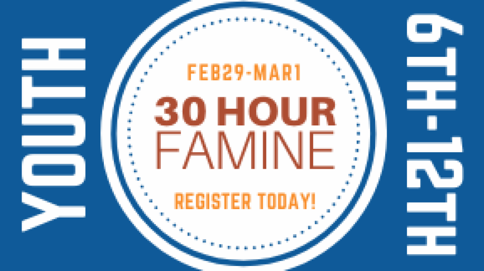 30 Hour Famine - Youth Event