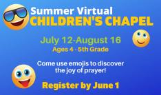 Summer Virtual Children's Chapel