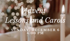 Advent Lessons and Carols 2020